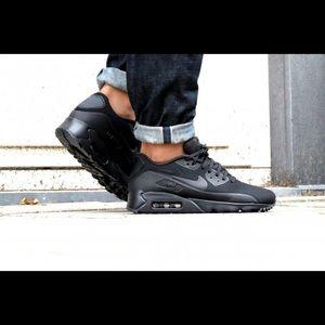Nike Air Max 90 Ultra Moire Triple Black